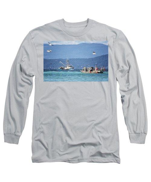 Elora Jane Long Sleeve T-Shirt by Randy Hall