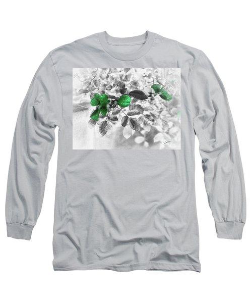 Emerald Green Of Ireland Long Sleeve T-Shirt