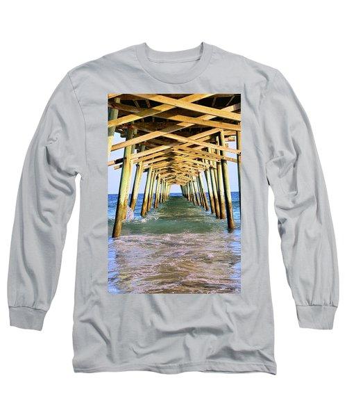 Emerald Isles Pier Long Sleeve T-Shirt