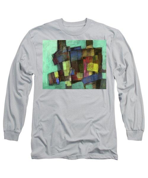 Colorful Long Sleeve T-Shirt by Behzad Sohrabi