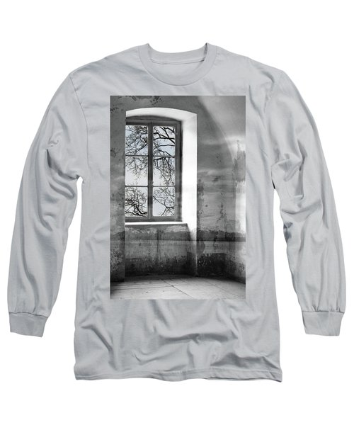 Long Sleeve T-Shirt featuring the photograph Emptiness by Munir Alawi
