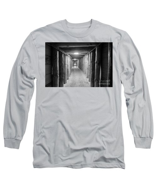 Long Sleeve T-Shirt featuring the photograph Empty Corridor by Juli Scalzi