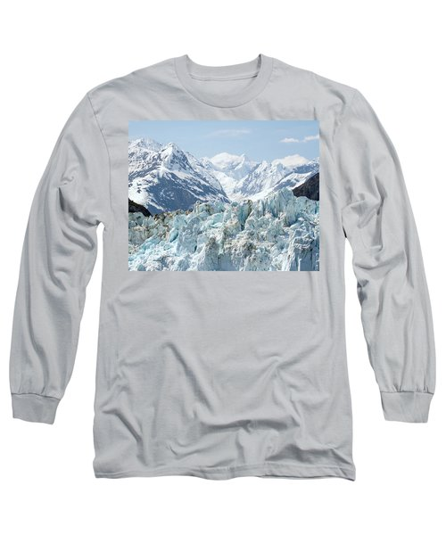 Glaciers End Of A Journey Long Sleeve T-Shirt