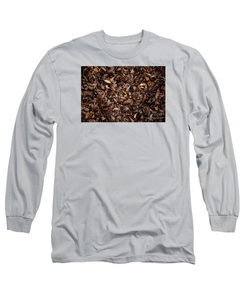 Long Sleeve T-Shirt featuring the photograph End Of A Season by Serene Maisey