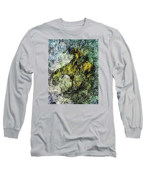 End Of The Trail 5 Long Sleeve T-Shirt by Ayasha Loya