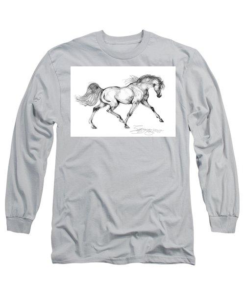 Endurance Horse Long Sleeve T-Shirt