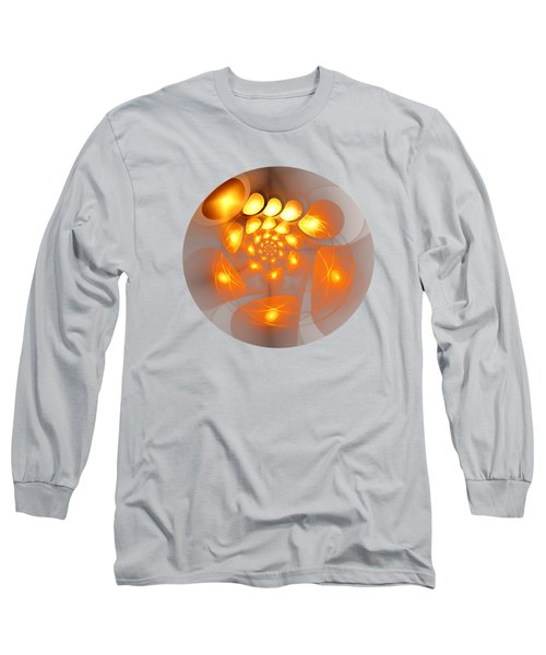 Long Sleeve T-Shirt featuring the digital art Energy Source by Anastasiya Malakhova