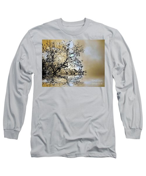 Long Sleeve T-Shirt featuring the photograph Entangled by Elfriede Fulda