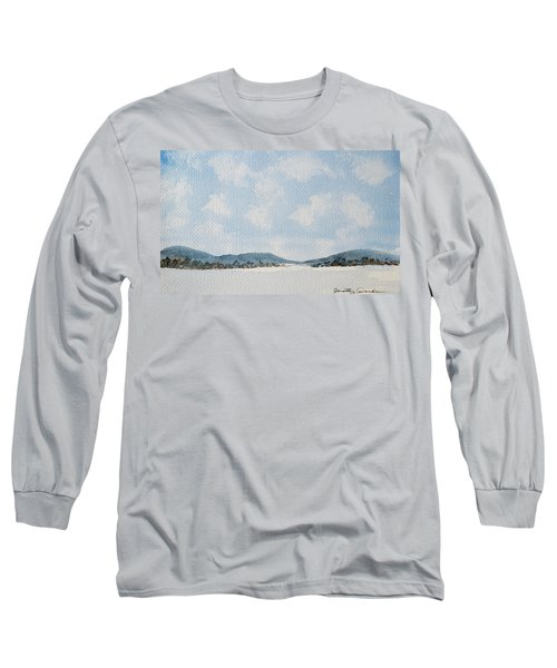 Entrance To Moulters Lagoon From Bathurst Harbour Long Sleeve T-Shirt