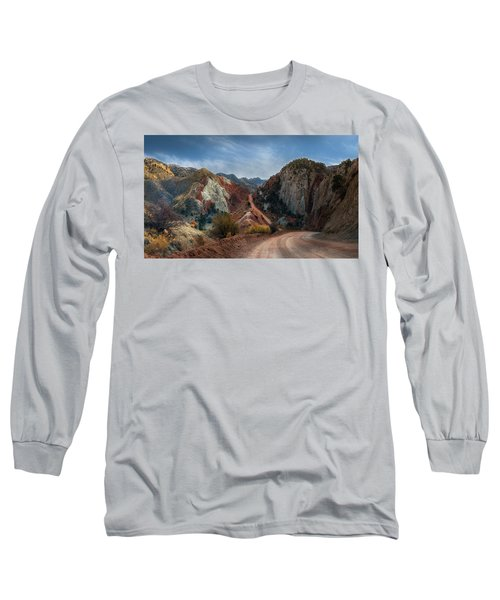 Grand Staircase Escalante Road Long Sleeve T-Shirt