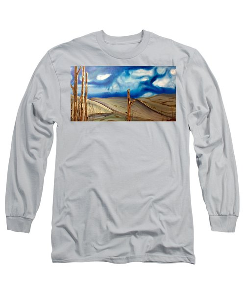 Escape Long Sleeve T-Shirt by Pat Purdy