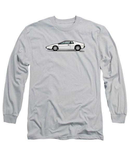 Esprit S1 Monaco White 1976 Long Sleeve T-Shirt