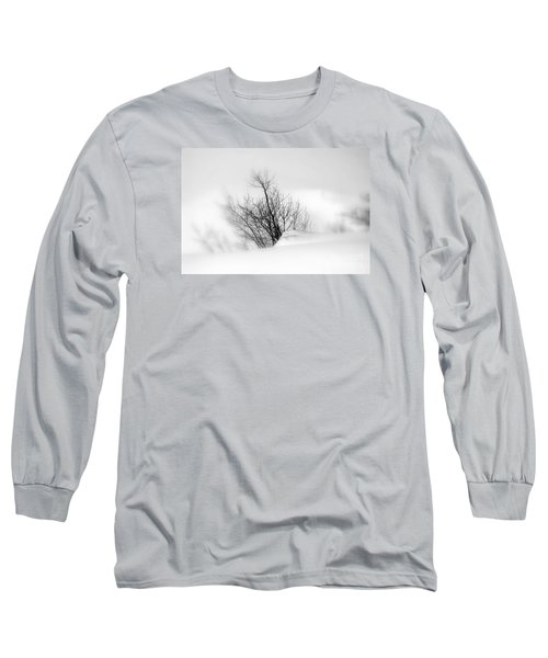 Long Sleeve T-Shirt featuring the photograph Essence Of Winter by Elfriede Fulda