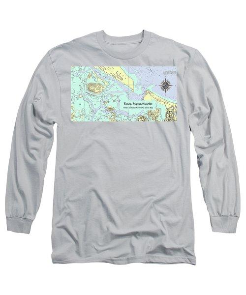 Essex River Detail Long Sleeve T-Shirt