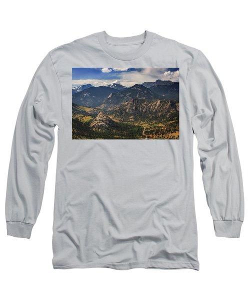 Estes Park Aerial Long Sleeve T-Shirt