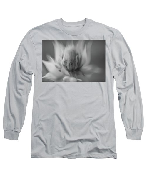 Ethereal In Black And White Long Sleeve T-Shirt