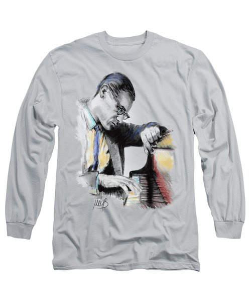 Evans Bill Long Sleeve T-Shirt by Melanie D