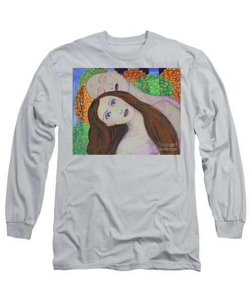 Eve Emerges Long Sleeve T-Shirt by Kim Nelson