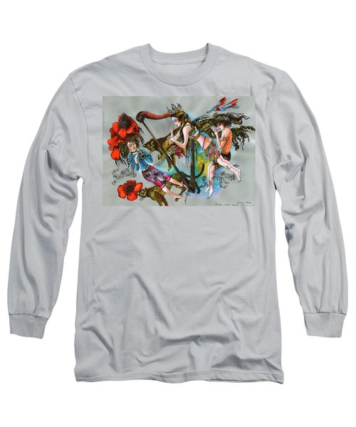 Even Leopards Love The Music Long Sleeve T-Shirt