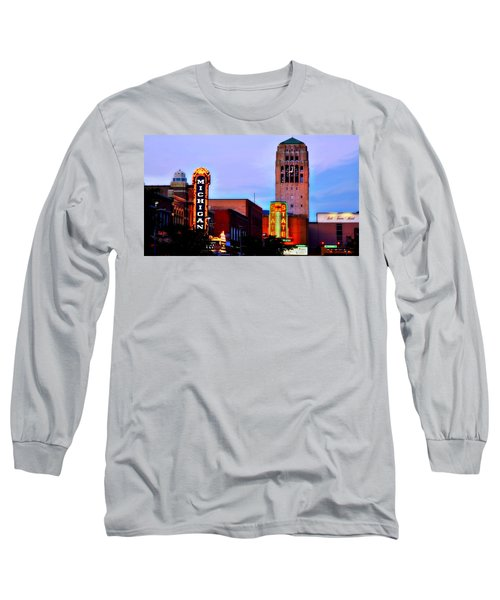 Evening In Ann Arbor Long Sleeve T-Shirt