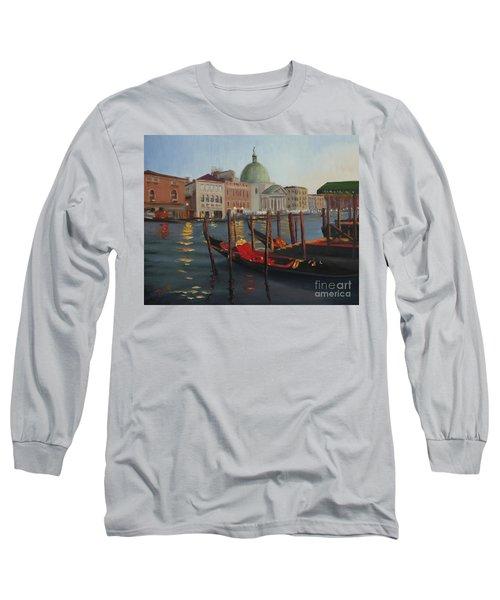 Evening In Venice Long Sleeve T-Shirt