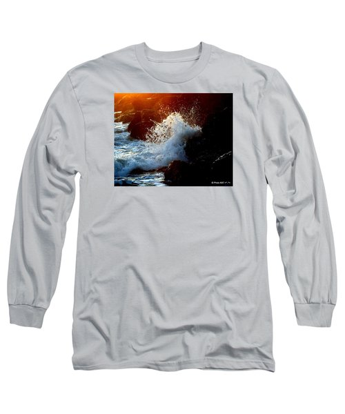 Evening Splash Long Sleeve T-Shirt