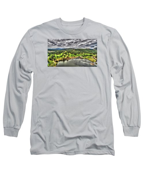 Evergreen Lake And Golf Course Long Sleeve T-Shirt