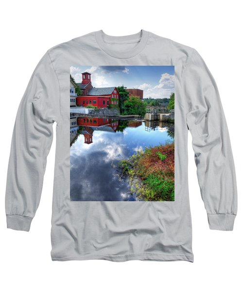 Exeter New Hampshire Long Sleeve T-Shirt by Rick Mosher