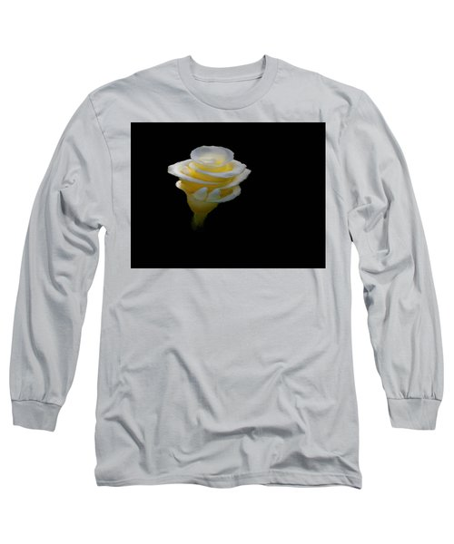 Exotic White Bloom Long Sleeve T-Shirt
