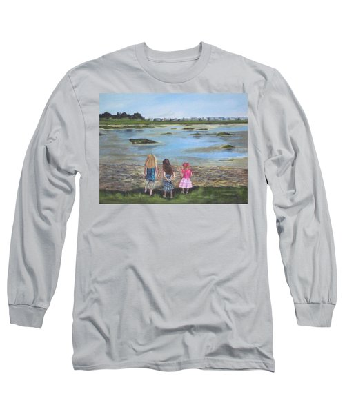 Exploring The Marshes Long Sleeve T-Shirt