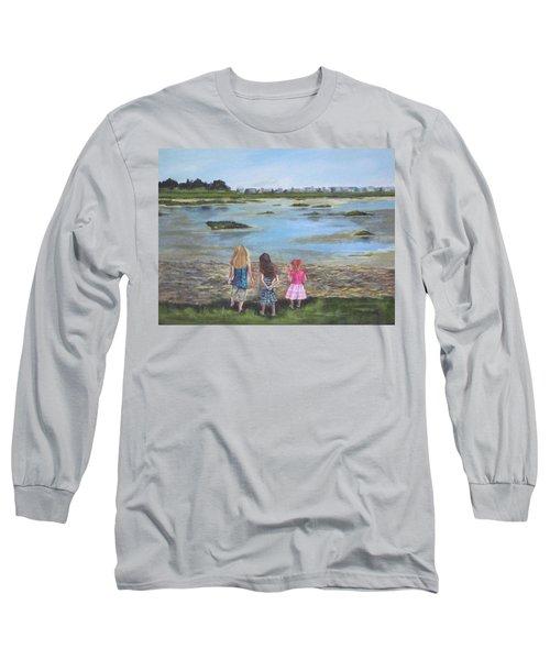 Exploring The Marshes Long Sleeve T-Shirt