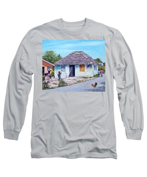 Exuma Thatch Hut Long Sleeve T-Shirt