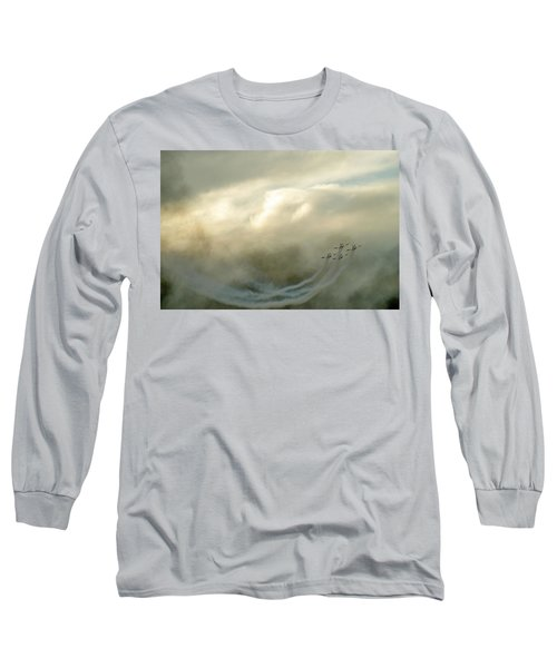 Long Sleeve T-Shirt featuring the photograph Eye In The Sky by Dubi Roman