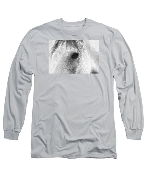 Eye Of The Horse Long Sleeve T-Shirt