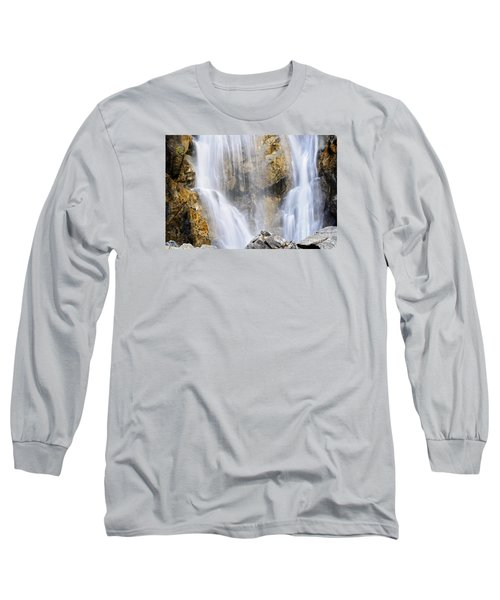 Eyes In The Rocks- Holland Falls  Long Sleeve T-Shirt