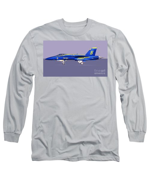 F18 Super Hornet Long Sleeve T-Shirt