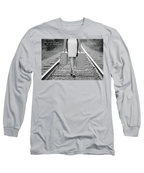 Long Sleeve T-Shirt featuring the photograph Faith In Your Journey by Barbara West