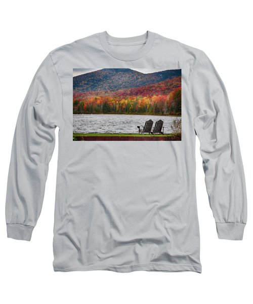Fall Foliage At Noyes Pond Long Sleeve T-Shirt