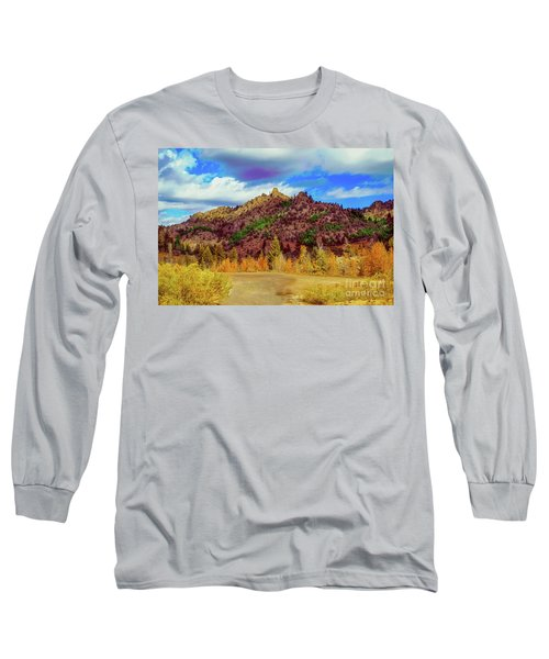 Long Sleeve T-Shirt featuring the photograph Fall In The Oregon Owyhee Canyonlands  by Robert Bales