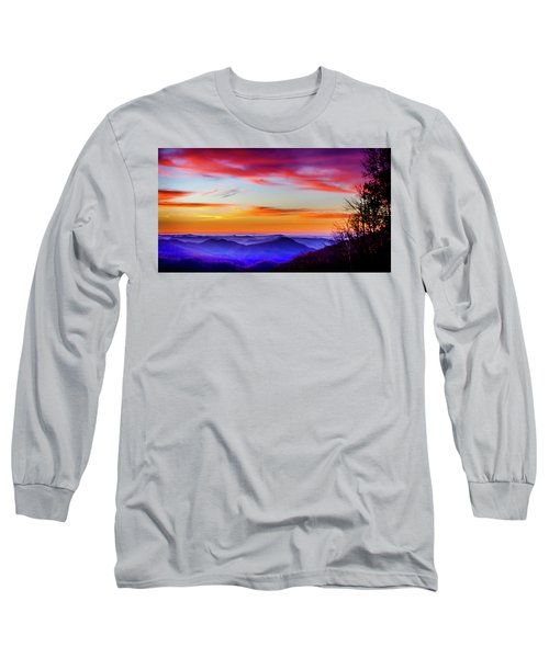 Fall On Your Knees Long Sleeve T-Shirt by Karen Wiles