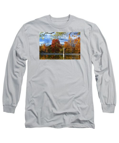 Falls Park Pond Lighthouse Long Sleeve T-Shirt