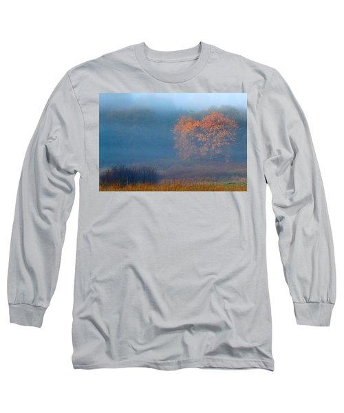 Falltime In The Meadow Long Sleeve T-Shirt