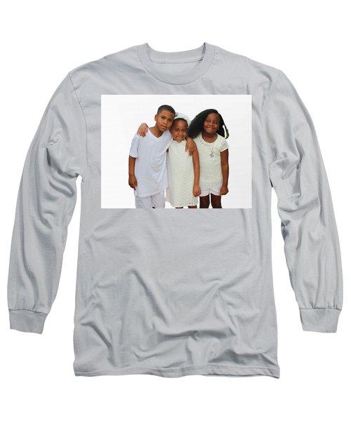 Family Love Long Sleeve T-Shirt by Audrey Robillard