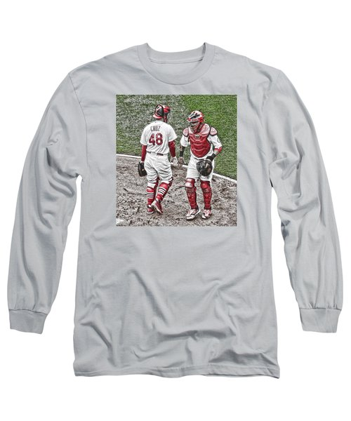 Long Sleeve T-Shirt featuring the photograph Farewell Brother by John Freidenberg