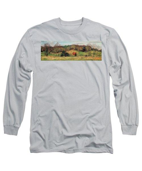 Farm Country Long Sleeve T-Shirt by Bonnie Mason
