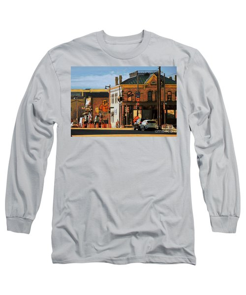 Fat Daddy's Long Sleeve T-Shirt by David Blank