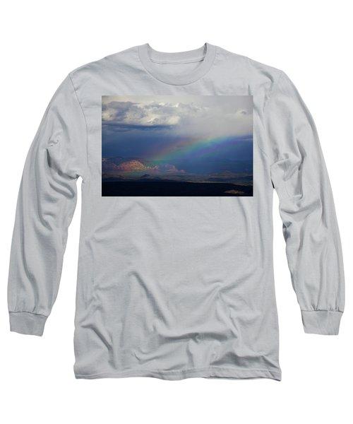 Fat Rainbow, Sedona Az Long Sleeve T-Shirt
