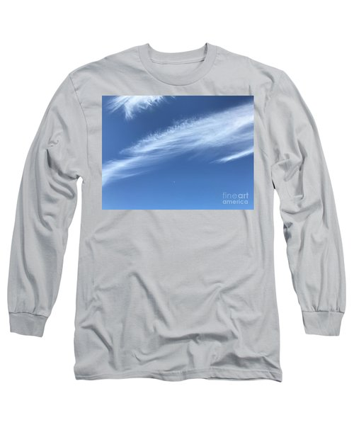 Feather In The Sky Long Sleeve T-Shirt