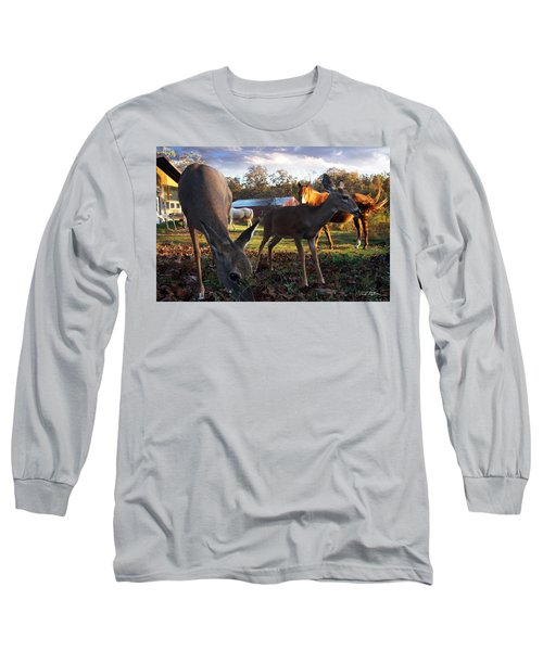 Feeling At Home Long Sleeve T-Shirt by Bill Stephens