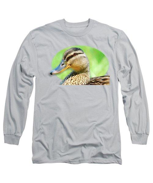 Female Mallard Duck Long Sleeve T-Shirt